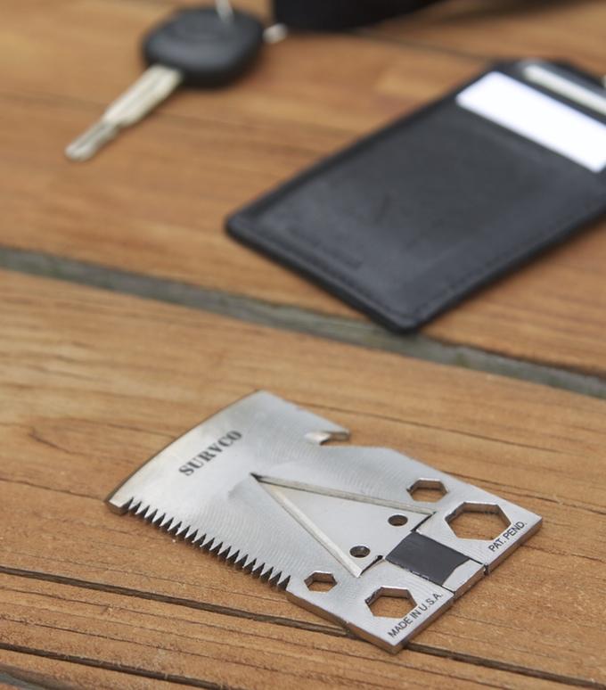 survco tactical credit card ax
